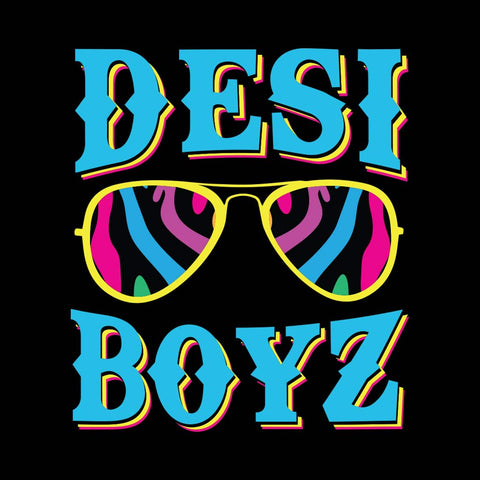 Black Desi Boyz Father-Son Tees