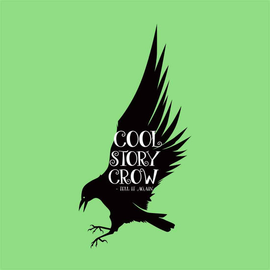 Cool Story Crow Halloween Family Tees