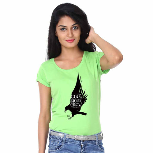 Cool Story Crow Halloween Family Tees For Mother