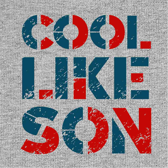 Cool like dad & son tee