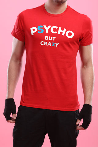 Crazy Psychos, Matching Tee And Cold Shoulder Dress For Him And Her
