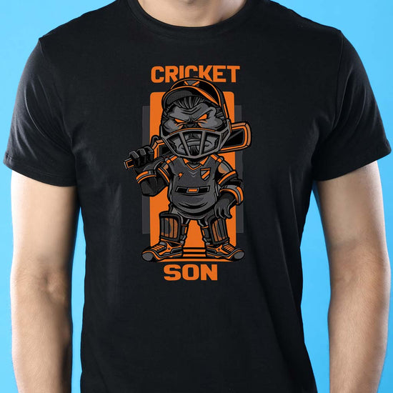 Cricket Boys, Dad And Son Matching Adult Tees