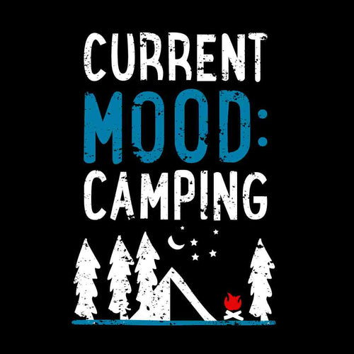 Current Mood Camping Friends Tees