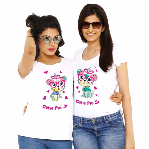 Cutie pie sr./jr. Tees