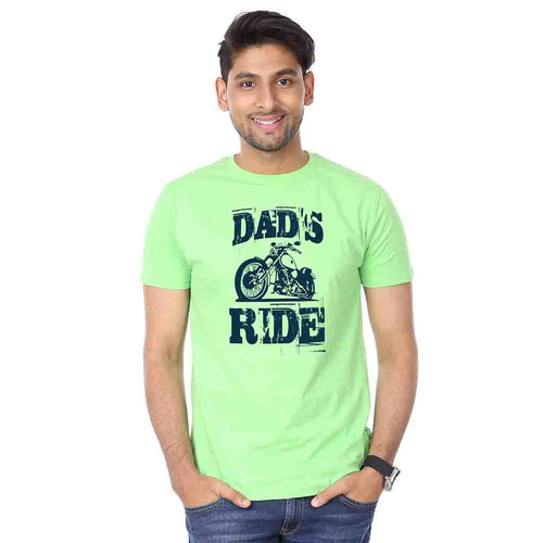 Dad's Ride Matching Father And Son Tshirt
