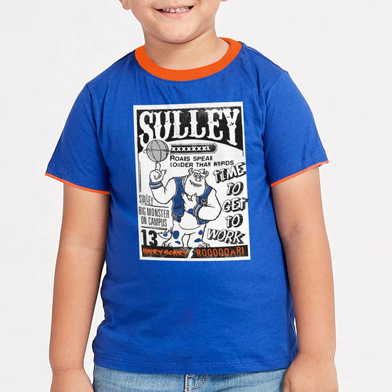 Sulley Big Monster On Campus Disney Tees for Boy