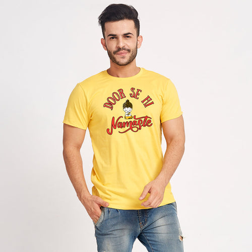 Door Se Hi Namaste Matching Tees For Family