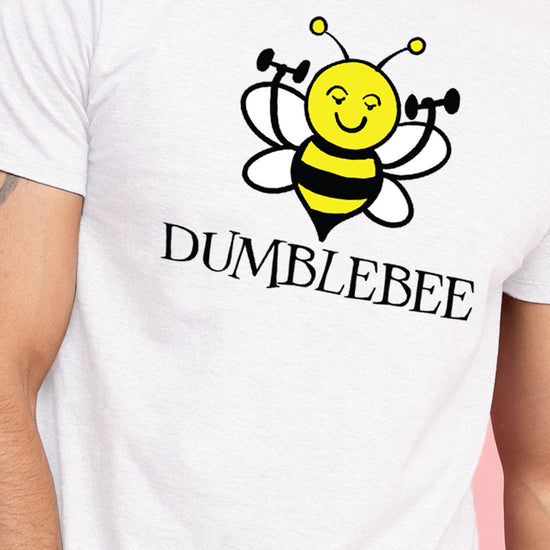 Dumblebee/Bumblebee Matching Tees For Couples