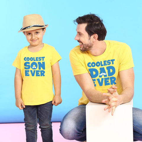 Coolest Dad And Coolest Son Ever Tees
