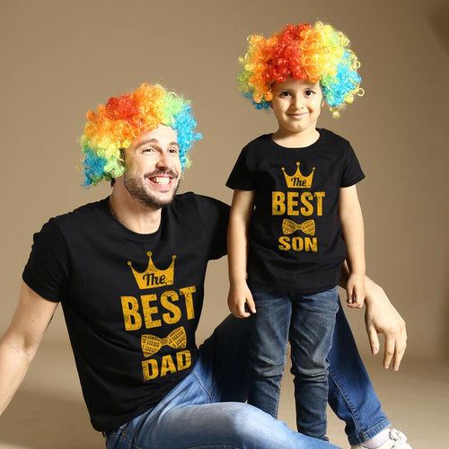 Best Dad And Son Matching Tshirt