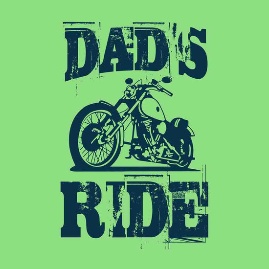 Bright Green Dads/Sons Ride father-Son Tees