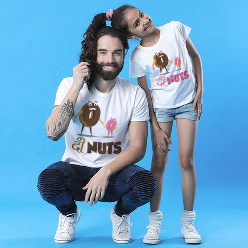 Donut Dad And Daughter Matching Tshirt