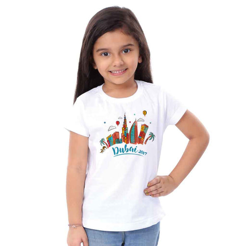 Dubai Family Tees for daughter