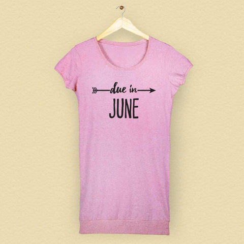 Due In June Tunic Tee