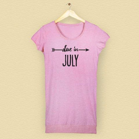 Due In July Tunic Tee