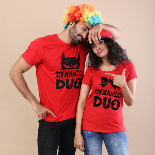 Dynamic Duo Adult Siblings Tees