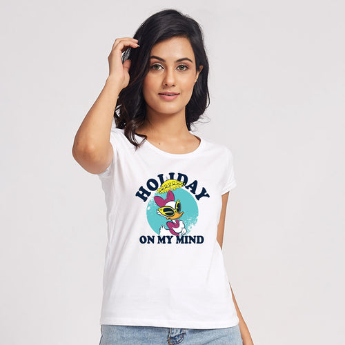 Holiday On My Mind, Matching Disney Travel Tees For Women