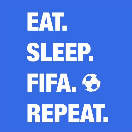 Eat, Sleep, Fifa, Repeat Dad and Son Tee