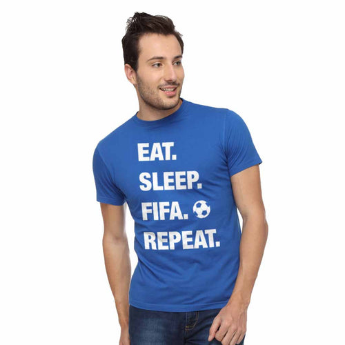 Eat Sleep Fifa Dad And Son Tshirt