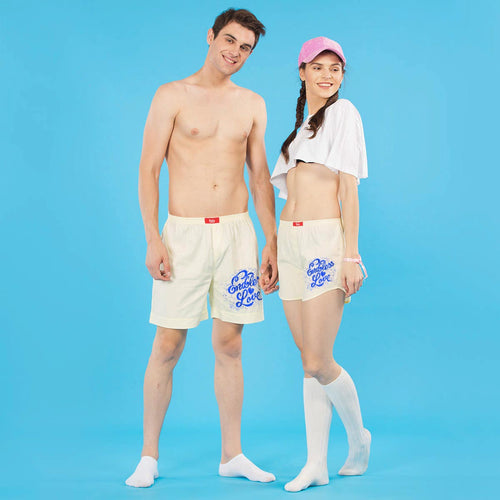 Endless Love Similar Cotton Couple Boxers