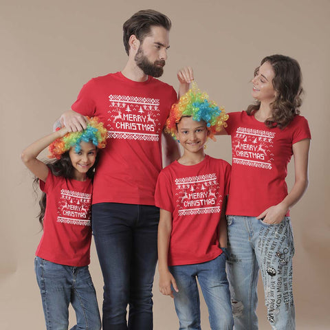 Festive Christmas family tees