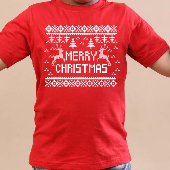 Festive Christmas brother and sister tees