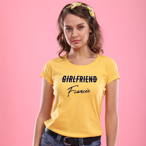 Fiancee, Matching Tees For Women