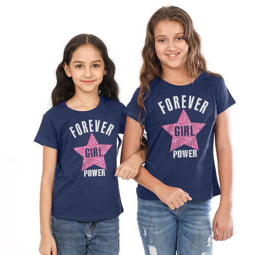 Girl Power Forever, Matching Tees For Sisters