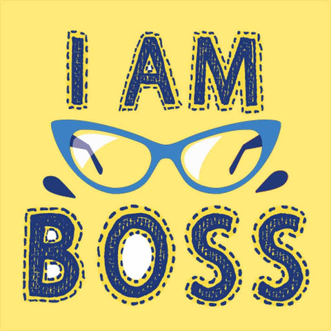 I am Boss/I used to be the Boss Tees