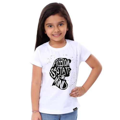 Freedom Is A State Of Mind Tees for daughter