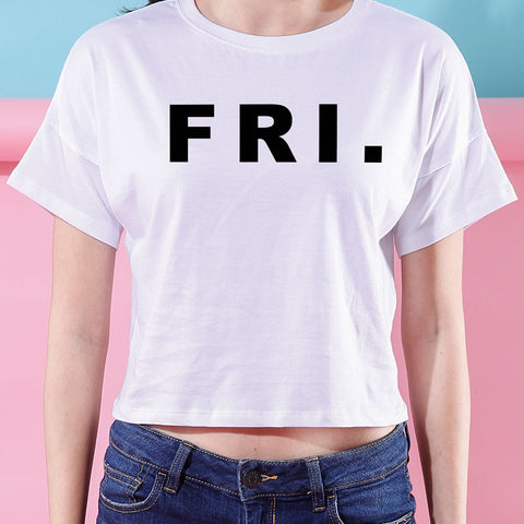FRI., Crop Tops For Bffs
