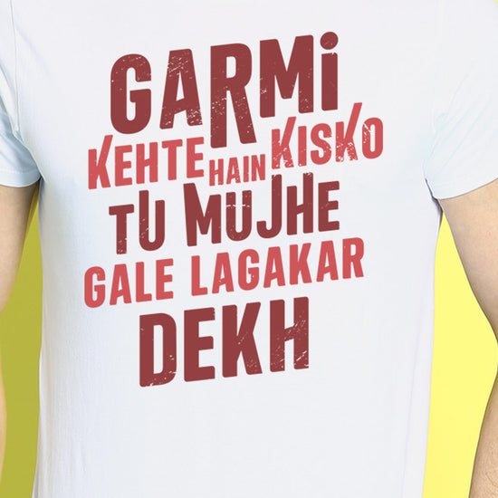 Haye Garmi, Matching Tees For Couples
