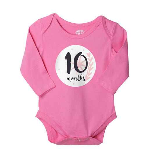 10-11-12, Set Of 3 Assorted Bodysuits For Baby