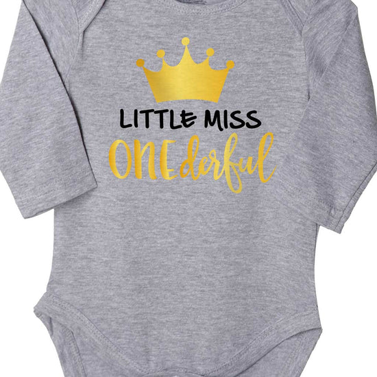 Little Miss Onederful, Bodysuit For Baby