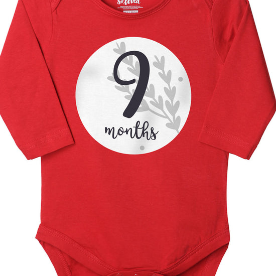 Nine, Bodysuit For Baby