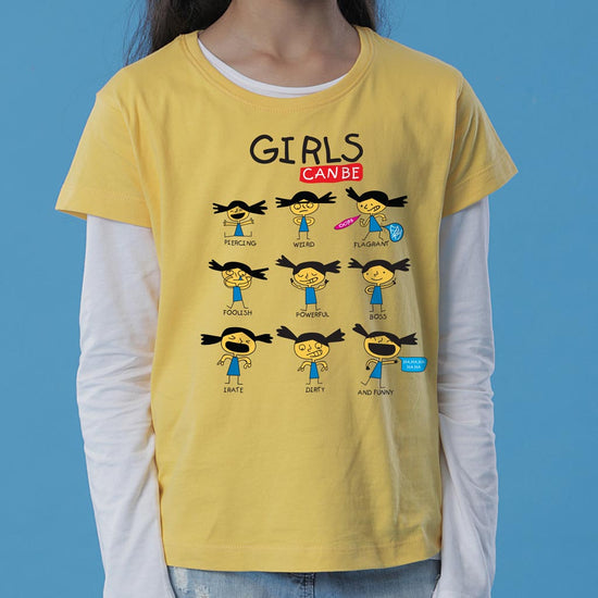 Girls Can Be Tees