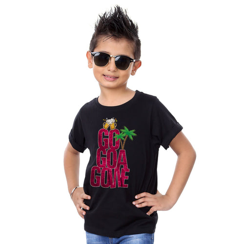 Go Goa Gone, Matching Travel Tees For Boy