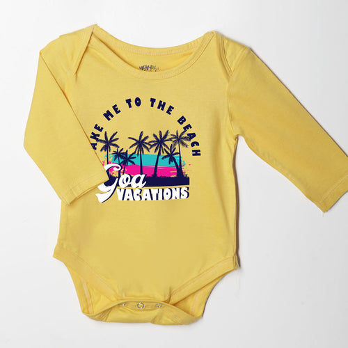 Take Me To The Beach, Matching Family Tees For Infant