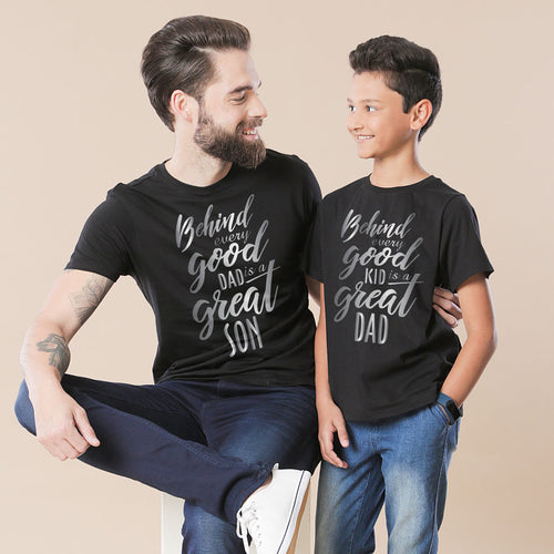 Good And Great Dad And Son Tshirt