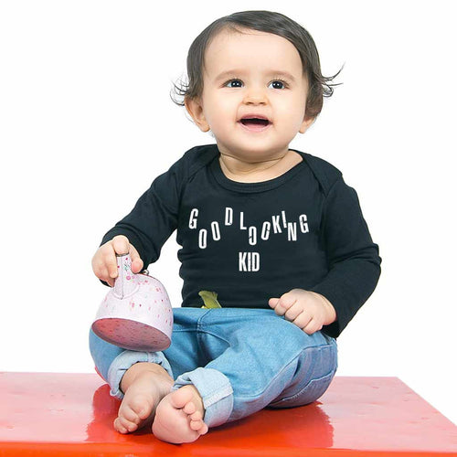 I Make Goodlooking kids Dad And Daughter Bodysuit and Tees For Baby