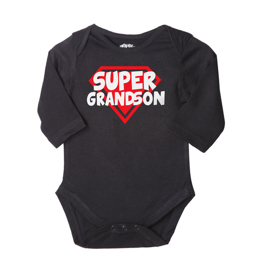 Grandparent Love, Set Of 3 Assorted Bodysuits For The Baby