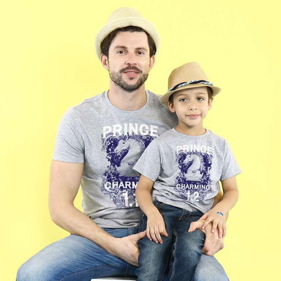 dad and son tees