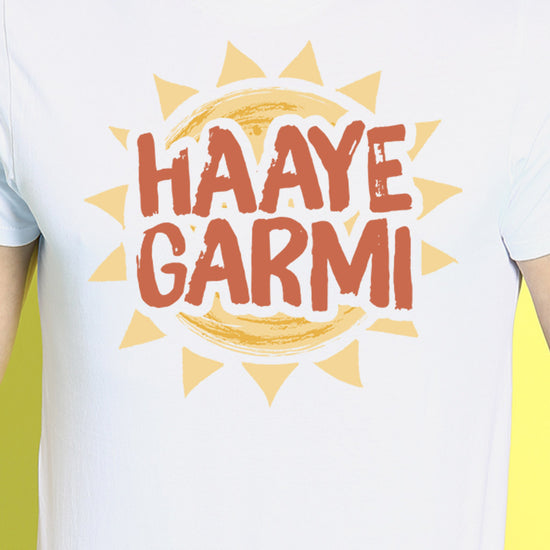 Garam/Haaye Garmi Matching Tees For Couples