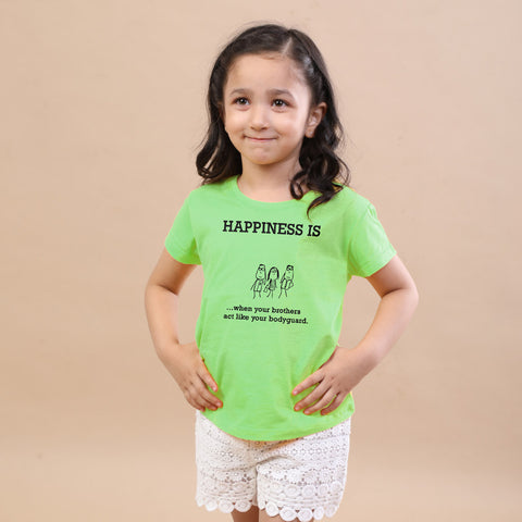 Happiness Tee for Girls