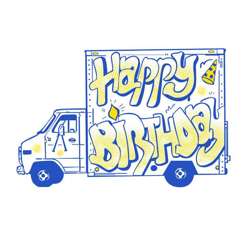Birthday Truck Family Tees