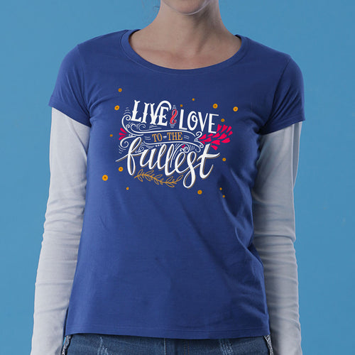 Live And Love Mom & Daughter Tees