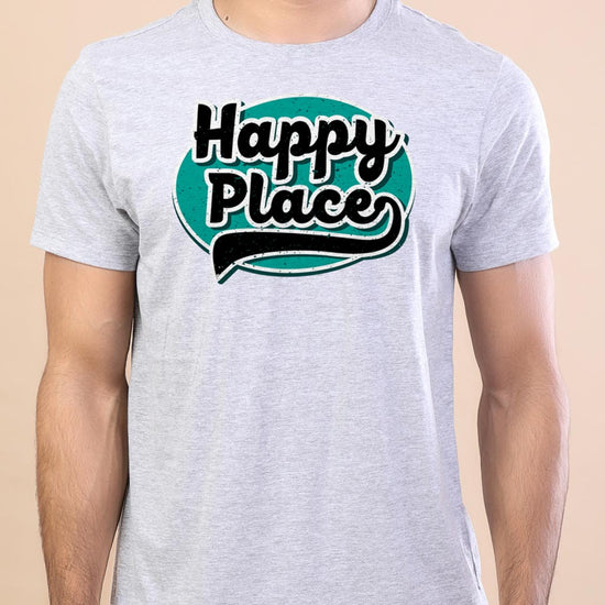 Happy Place Adult Siblings Tees