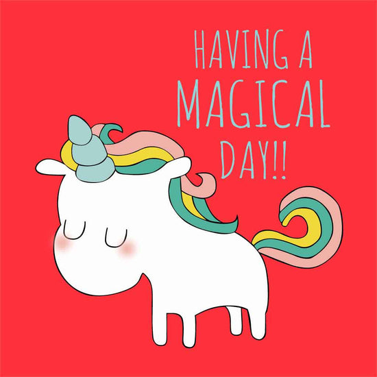 Having A Magical Day Birthday Tees