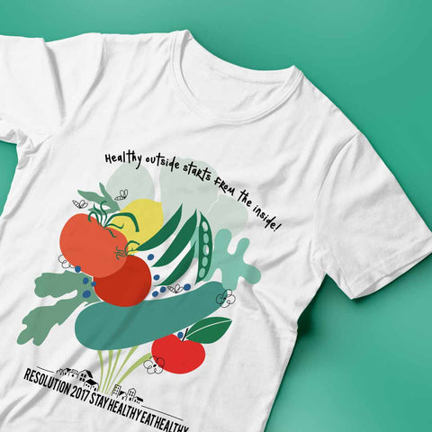 Stay Healthy Eat Healthy Tee