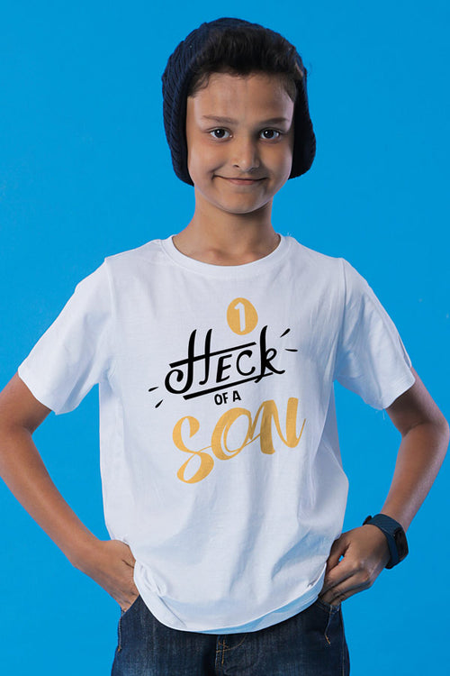 Heck Of A Mom & Son Tees For Son